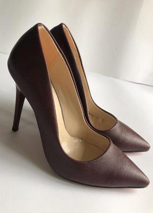 Классические туфли лодочки на каблуке bella shoes