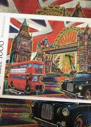 Пазли лондон 1000