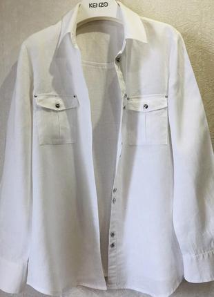 Рубаха бренда imperial 100 % лен !!