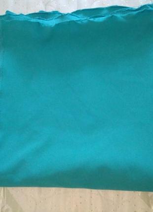 Ткань стрейч джинс бирюза