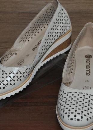 Туфли женские из натуральной кожи remonte d5507-81.оригинал!!!
