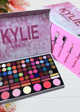 Подарочный набор косметики и кистей make up-kit 78 цветов