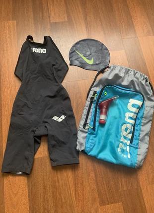 Стартовый костюм для плавания arena