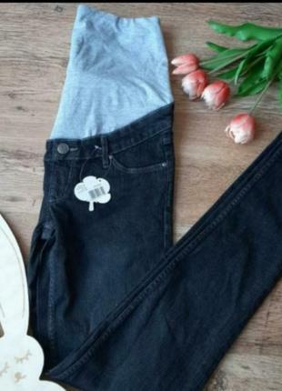 Новие джинси для беременних р.34евро xs,  штани для вагітних esmara