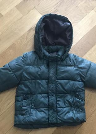 Куртка демисезон zara 9-12 м , 78 см