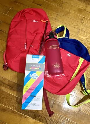 Рюкзак для спорта и прогулок quechua arpenaz розовый 10 l