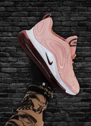 Nike air max 720 pink white