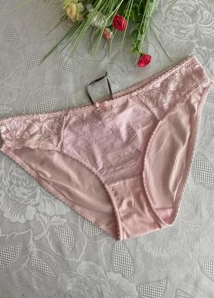 Ніжно рожеві трусіки повноцінні, тонкі , англія , розмір с-м💕