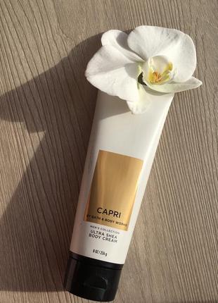 Чоловічий крем для тіла capri від bath&body