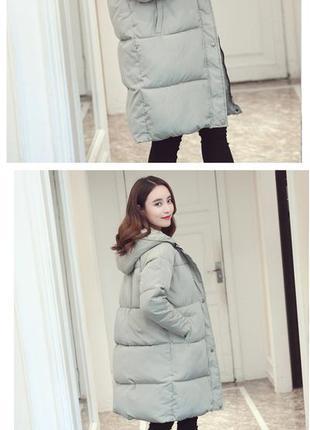 Зимнее пальто на синтепоне/пуховик