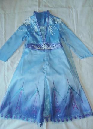 Платье эльзы 2 на 4 года