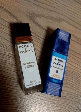 Blu mediterraneo, унисекс аромат, тестер 40 мл, духи, пробник, парфюм