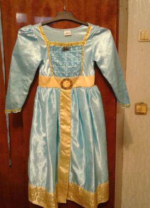 Детский карнавальный костюм принцесса мирида 5-6 лет