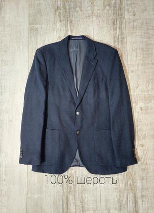 Фирменный пиджак мужской синий tommy hilfiger