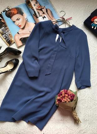Новое! женственное платье из струящейся ткани /h&m/ размер s h&m