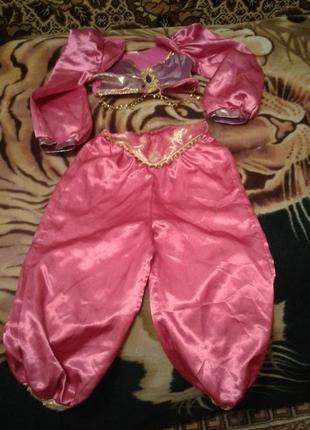 Детский карнавальный костюм принцесса жасмин 3-4 года