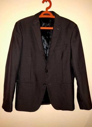 Мужской классический пиджак бренд zara