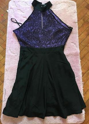 Шикарное атласное платье jasmine london