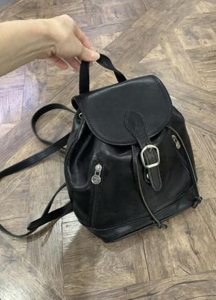 Кожаный рюкзак, италия, рюкзак, кожа, размер средний