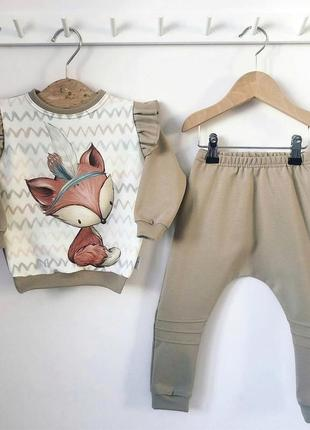 Детский костюм (повседневный) свитшот + штаны