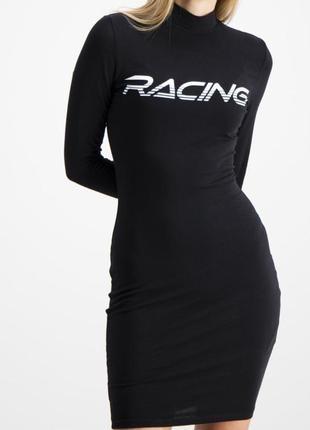 Платье racing платье fb sister платье под горло спортивное платье