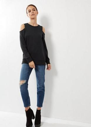 Свитшот cold shoulders forever 21