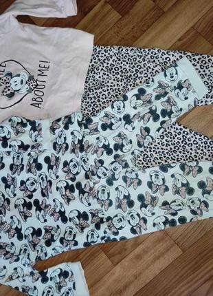Пижамы для девочки 2 шт