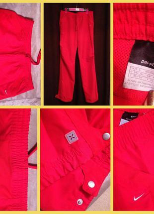 Спортивные штаны оригинал брюки см nike dri fit летние легкие
