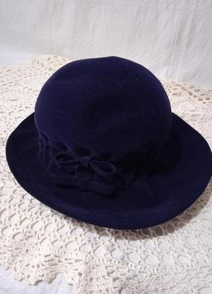 Шляпка ретро винтаж