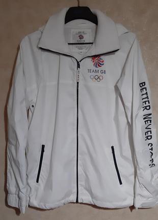 Стильная куртка-ветровка унисекс next (оригинал),р. m-l, новая