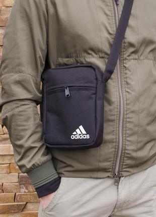 Мужская сумка мессенджер барсетка через плечо adidas