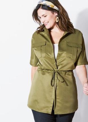 Блузка рубашка накидка