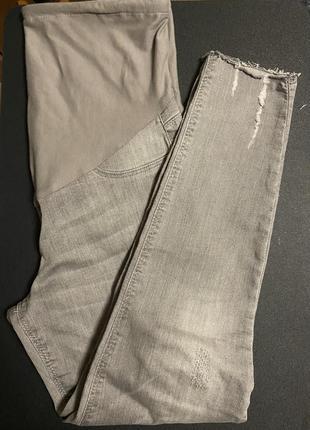 Джинсы для беременных, штаны для будущих мам, размер м. lc wikiki
