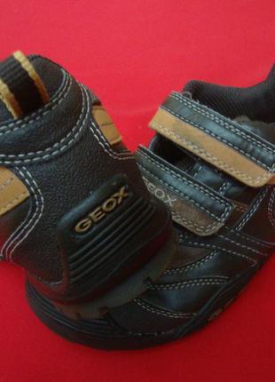 Кроссовки ботинки geox натур кожа оригинал 31-32 размер