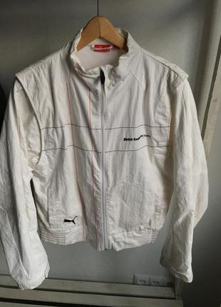 Мужская куртка puma bmw sauber team размер м