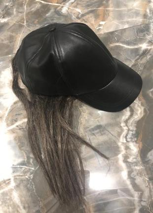 Блайзер кепка с волосами