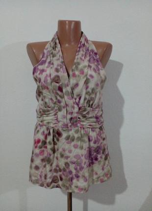 Красивая блуза натуральный шелк