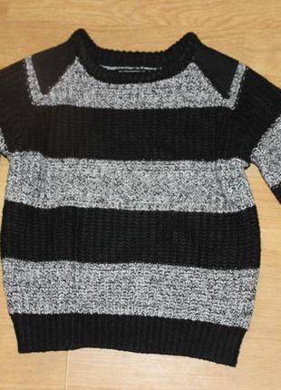 Вязаная кофта свитер  rebel