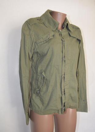 Куртка ветровка милитари