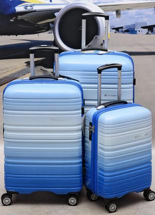 Антиударный чемодан из поликарбоната snowball 85703 (франция)