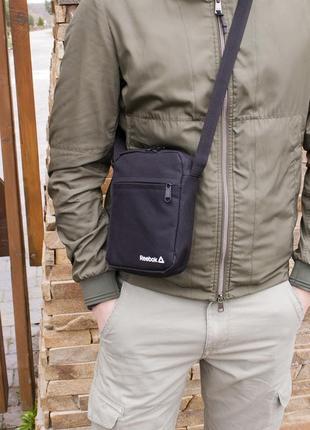 Мужская сумка мессенджер барсетка через плечо reebok