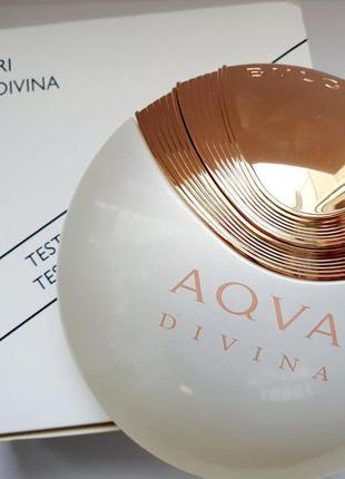 Bvlgari aqva divina туалетная вода