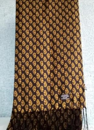 Шикарный статусный шелковый шарф люксового бренда tootal англия