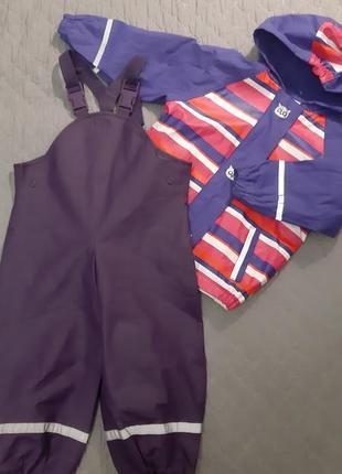 Дождевик комбинезон полукомбинезон куртка грязепруф комплект костюм