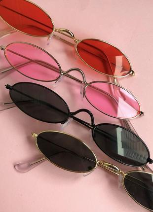 Красные женские очки, хит сезона