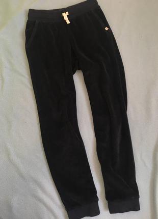 Велюровые спортивные штаны h&m