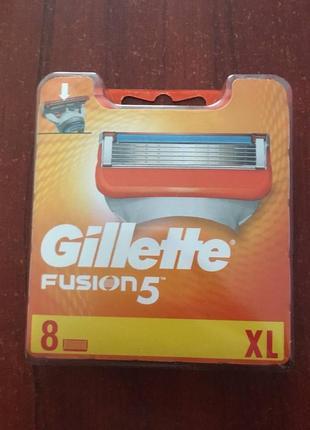 Кассеты для бритья gillette fusion 5