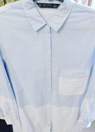 Рубашка 36р zara