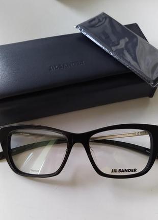 Новая оправа jil sander оригинал очки премиум жиль сандер титановая