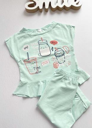 Літня піжама для дівчат (2-6 років)